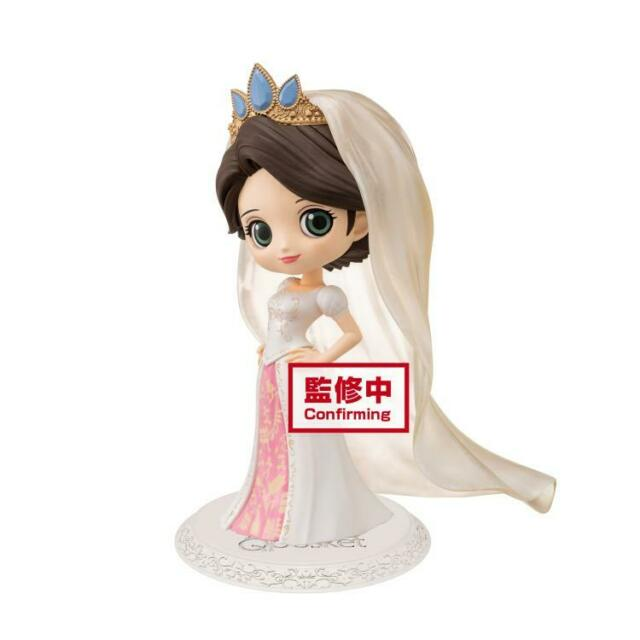 Ariel Dreamy Style White Ver.B 14cm Figurine Q Posket Disney
