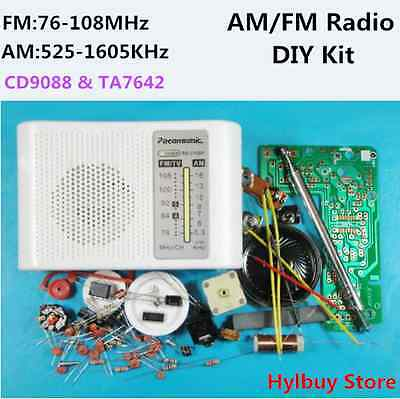 FM AM Radio Kit Parts CF210SP Suite for Ham Electronic lover assemble  DIY