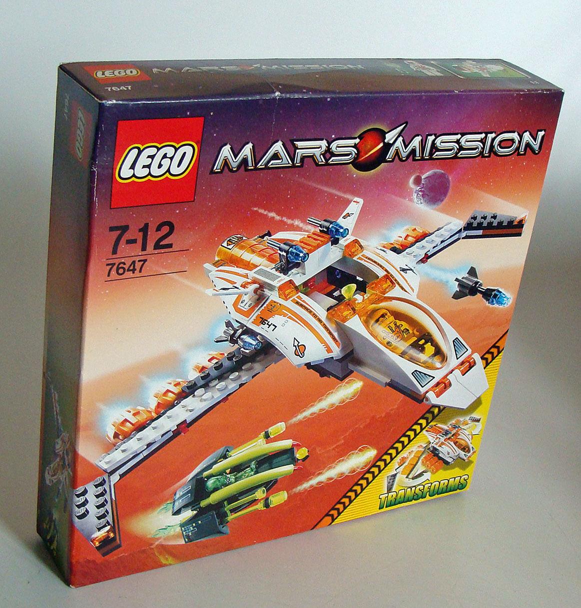 Lego® Mars Mission 7647 - MX-41 Switch Fighter 235 Teile Teile Teile 7-12 Jahren - Neu 5bf8c3