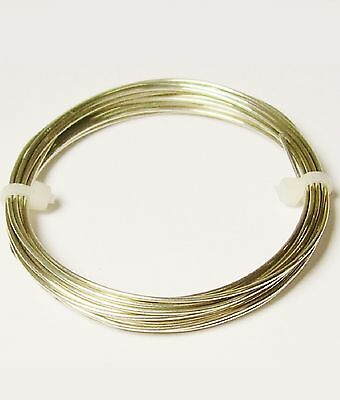 165 Ft. Coil // 3 Oz 24 Ga Nickel Silver Jewelry /& Craft Wire SOFT