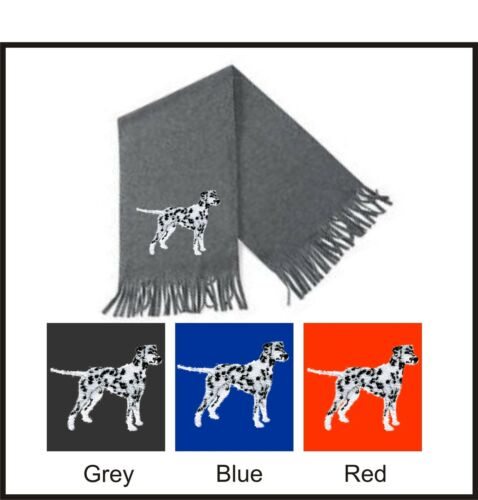 Dalmatian Scarf  Perfect Gift Embroidered by Dogmania