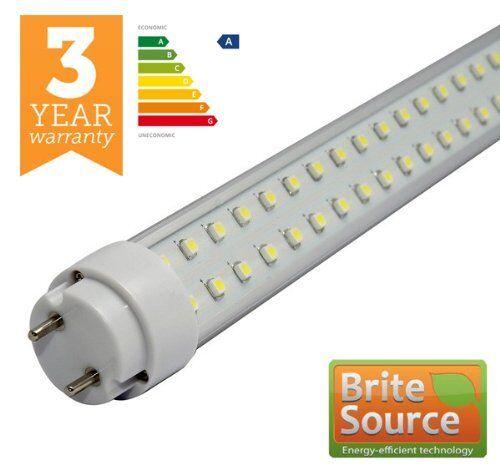 Brite Source 5x 10w 2ft Klar Single Ended 6000K LED T8 T12 Rohre