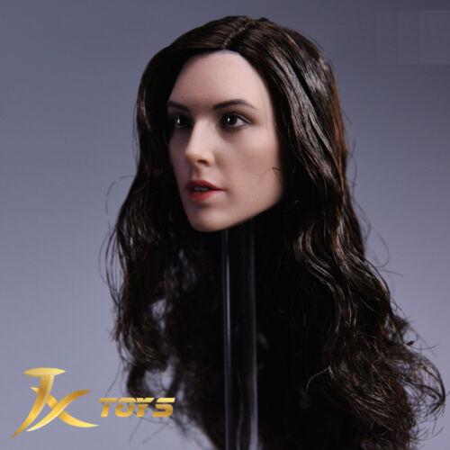 1//6 Female Head Sculpt Gal Gadot Wonder Woman C pour Hot Toys Phicen Figure ❶ USA ❶
