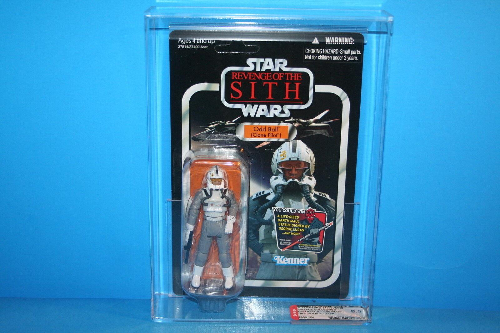 Figura De Estrella Wars autoridad clasificados 2012 Tvc menta en tarjeta figura raro bola piloto  97 HASBRO 8.5