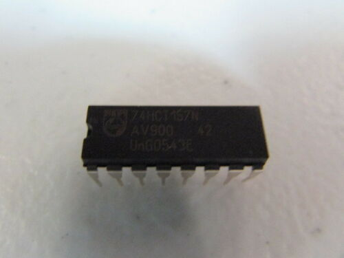 Philips 74HCT157N IC Integrated Circuit 16Pin Lot of 10 Pieces NEW! NOS