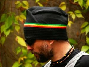 Unique-shape-warm-rasta-reggae-beanie-hat-autumn-winter-spring-anti-allergic