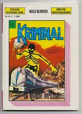 KRIMINAL serie venticinquesimo collana scotland yard N.12 UN CRIMINE IMPOSSIBILE