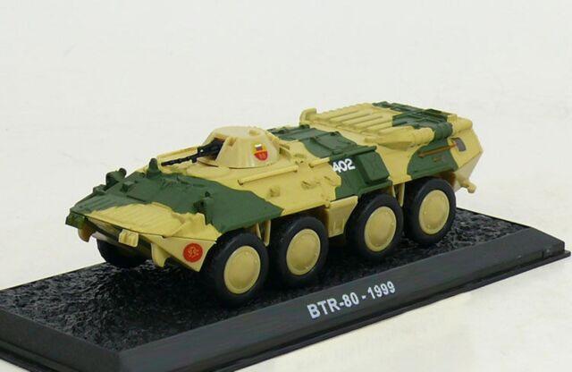 Amercom 1:72 GAZ BTR-80 8x8 APC Russian Army Imperial Guard Troops 1999 ACCS41