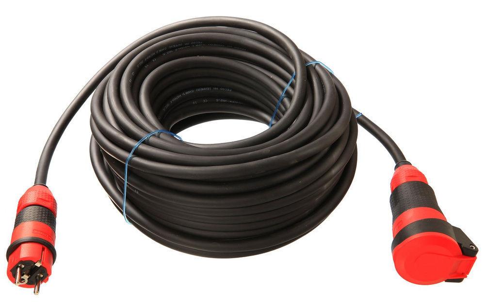 As Schwabe SCHUKOultra Verlängerungsleitung Verlängerungskabel Kabel H07RN-F | Viele Stile