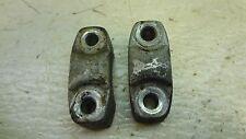 1966 honda cb100 h1065~ handlebar top clamps bar