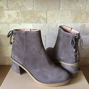 UGG Corinne Mysterious Suede Stacked