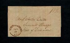 1828 WHITESBORO NY Ltr Wife&Son-> Simon Newton Dexter - Hamilton College Trustee