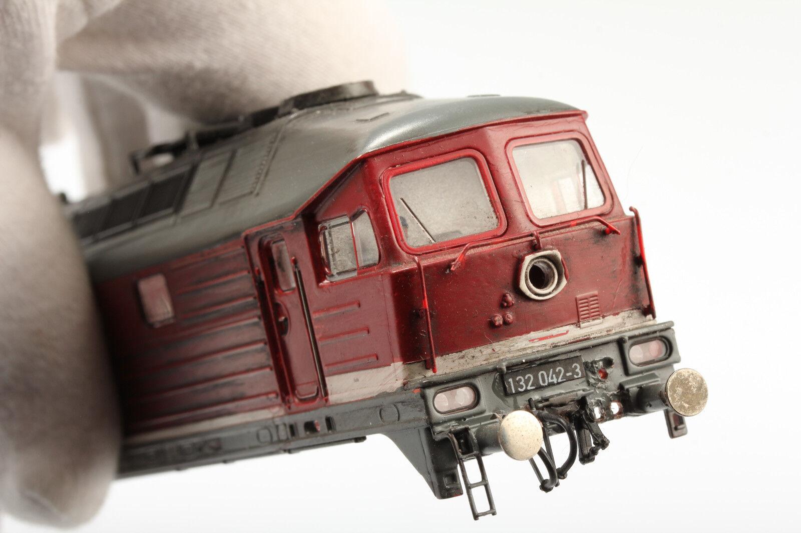 H0 ROCO splendido Ludmilla chassis 132 0423sporco graffiautoenze O. OVP