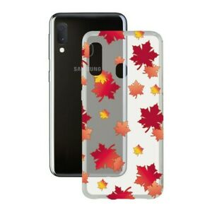 Protection-pour-telephone-portable-Samsung-Galaxy-A20s-Contact-Flex-TPU-Automne