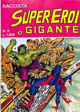 [349] RACCOLTA SUPER EROI GIGANTE ed. Corno 1984 n.  3 stato Buono