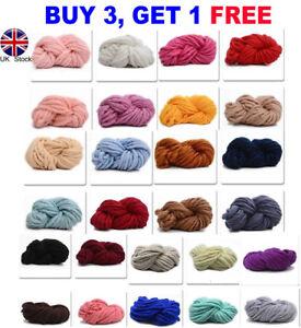 250g Warm Super Chunky Merino Wool Yarn Giant Wool Super Knitting Newest Scarf by Ebay Seller