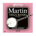Martin V700 Vega Banjo Strings Light