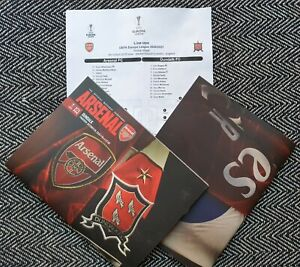 Arsenal-v-Dundalk-EUROPA-LEAGUE-MATCHDAY-PROGRAMME-WITH-TEAMSHEET-29-10-2020
