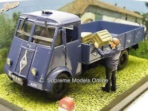 RENAULT ATFN LORRY & DIORAMA SCENE CLASSIC FRENCH TRUCK BLUE PACK L675 /=/
