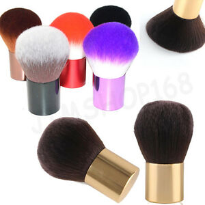 Pro-Flat-Professional-Foundation-Face-Blush-Kabuki-Makeup-Brush-Cosmetic-Tool