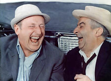 PHOTO BOURVIL ET  LOUIS DE FUNES  DANS LE CORNIAUD  - 11X15 CM  # 6