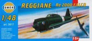 Reggiane Re 2000 Falco (1/48 model kit, Smer 0817)