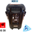 KB-39K-KBEATBOX-POWERED-KARAOKE-SYSTEM-SPEAKER-WITH-2-WIRELESS-MICS-100WATTS thumbnail 3