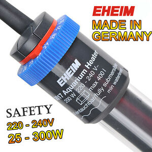 EHEIM JAGER Heater Aquarium Fish Tank Adjustable Submersible thermocontrol 220V
