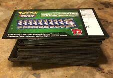 100 Sun & Moon Guardians Rising Pokemon TCG Online Code Cards Unused