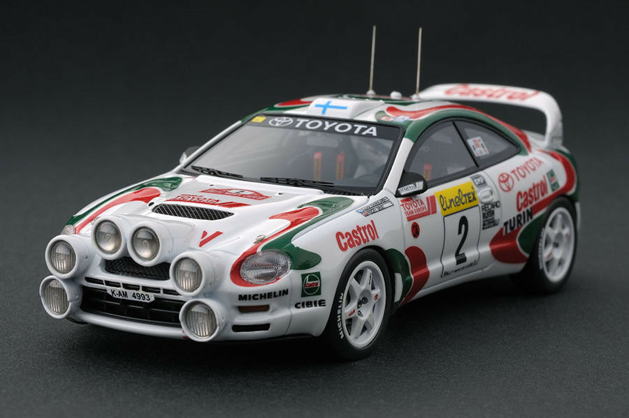 IG IGNITION MODEL IG0061 TOYOTA CELICA Kankkunen Rally Montecarlo 1995 - RARE