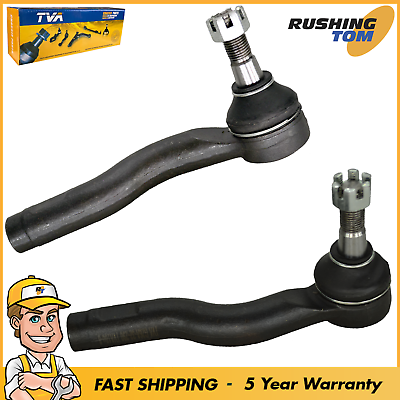 Front Outer Tie Rod End Assembly Left /& Right Pair Set of 2 for Mazda Miata