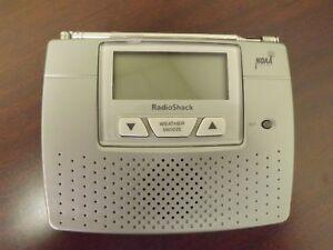 radio shack 12 260 noaa weather radio with lcd clock power rh ebay com NOAA Weather Radio Radio Shack 153151 NOAA Weather Radio Radio Shack 153151