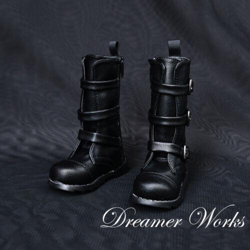 1//3 1//4 BJD PU Boots Shoes SD DOLL SD13 Black Dollfie EID MID DOD AOD DZ