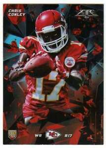 2015-Topps-Fire-Rookies-Silver-Foil-Parallel-RC-13-Chris-Conley-Chiefs