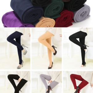 Autumn-winter-fashion-brushed-leggings-multicolor-brushed-pants-warm-seamless