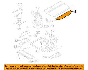 Subaru Outback Rear Gate Board fits 2005 2006 2007 2008 2009 Wagon 65551AG03AJC