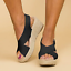 Womens-Platform-Sandals-High-Wedge-Heel-Espadrille-Lady-Summer-Ankle-Strap-Shoes thumbnail 27