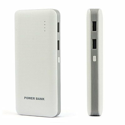 Ultrathin 50000mAh 2 USB External Power Bank Battery Charger Pack For Cell Phone
