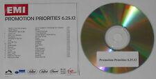 David Guetta Chris Brown Lil Wayne, Slash, Katy Perry, M83 U.S. promo cd  -Rare!