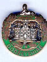 Enamel Lapel Badge Dorset Regiment