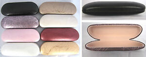 C16-Tree-Rattan-Pattern-Metal-Hard-Reading-Glasses-Case-PVC-Faux-Leather-Covered