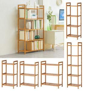 3-4-5-Tiers-Wooden-Bookshelf-Bookcase-Storage-Unit-Display-Shelves-Bathroom-Rack