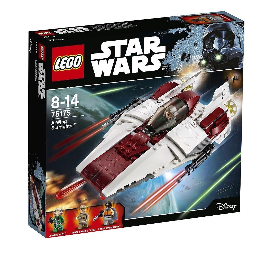 Lego ® Estrella Wars ™ 75175 a-Wing Estrellafighter ™ exclusivo set nuevo en el embalaje original New misb