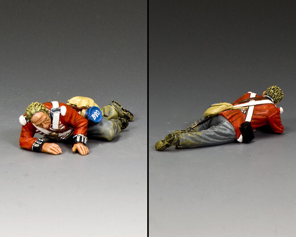 KING & COUNTRY THE AGE OF NAPOLEON NA425 BRITISH INFANTRY WOUNDED MIB