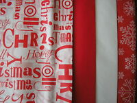 12 sheets xmas tissue wrapping paper christmas  ,red snow  50CMS X 66 CMS