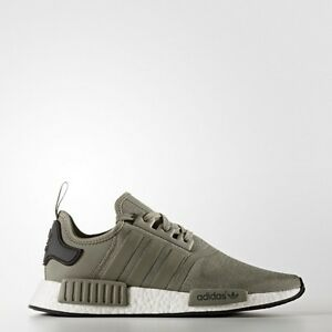 12adc3cf91fa Details about Adidas NMD R1 Runner Mesh Trace Cargo Trail Olive BA7249 Men  Size
