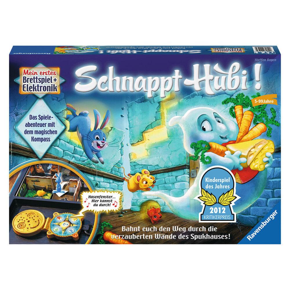 RAVENSBURGER Kinderspiel Schnappt Hubi  Elektronisches Brettspiel Familienspiel