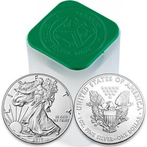2018 1 OUNCE AMERICAN SILVER EAGLE GEM B/U $1 SILVER DOLLAR~INVEST TODAY~.999