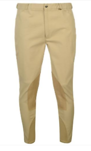 8791 Shires High Quality Mens Rochester Performance Breeches Beige White Navy