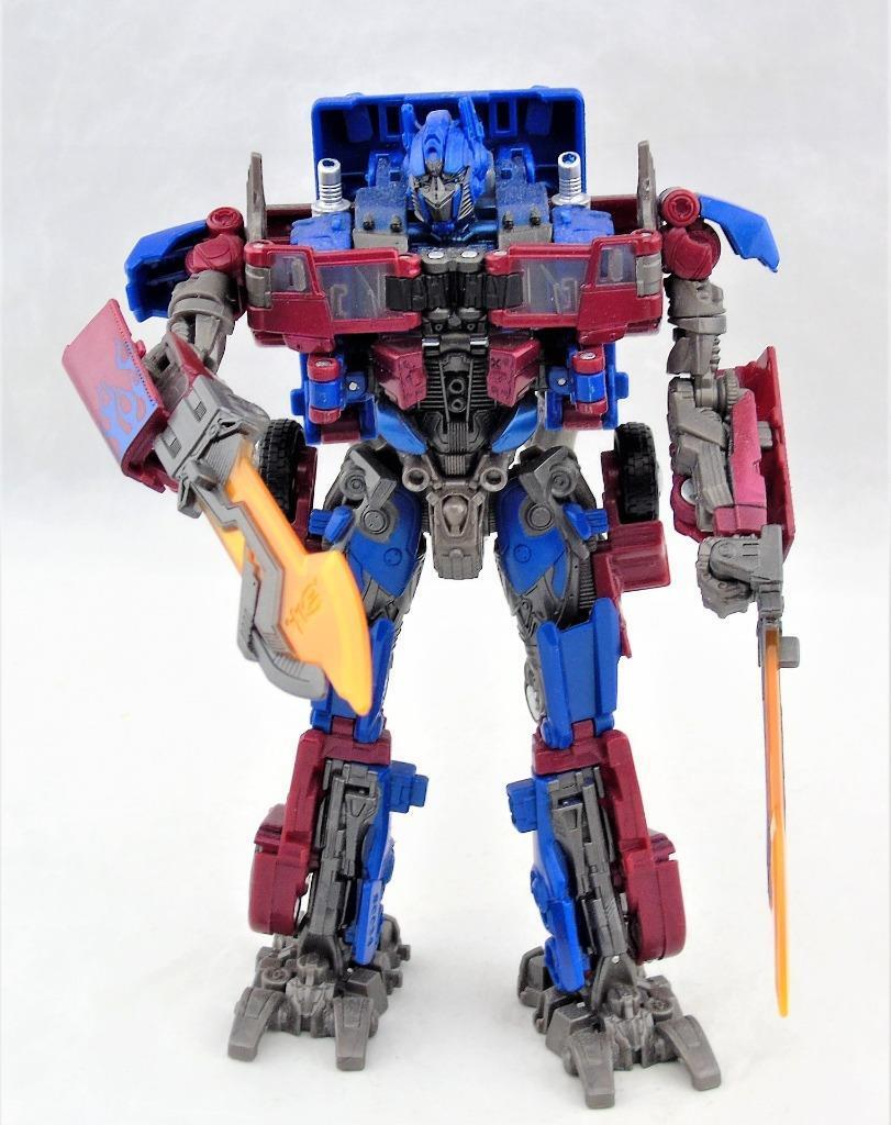 Transformers Studio Series Voyager Class redF OPtimus Prime Figure Complete